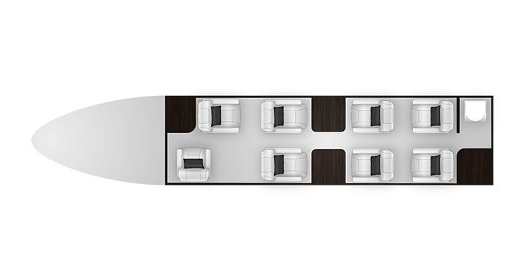 Legacy 450 cabine