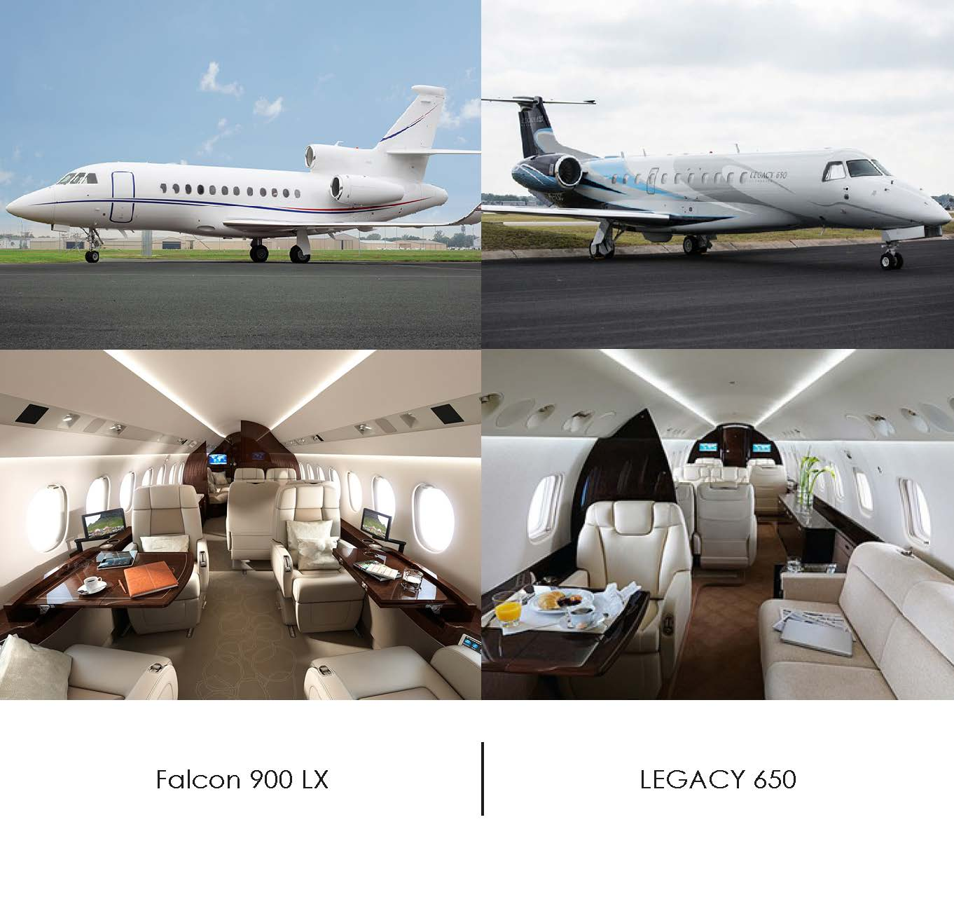 newsletterFALCON 900LX vs LEGACY 650 photo