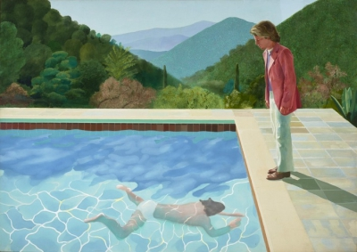 David Hockney Exhibit