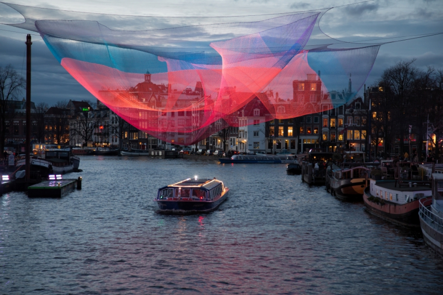 Light Festival in Amsterdam